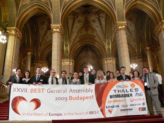 Official picture at XXVII BEST General Assembly in Budapest